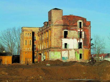 Reste der Polyphon-Werke Ende 2008 (Foto: Uwe)
