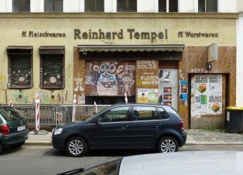 Fleischerei Tempel in Lindenau, Juli 2012