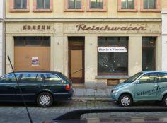 Fleischwaren in Anger-Crottendorf, November 2013