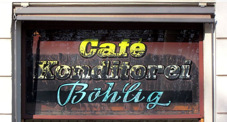 Café in Connewitz