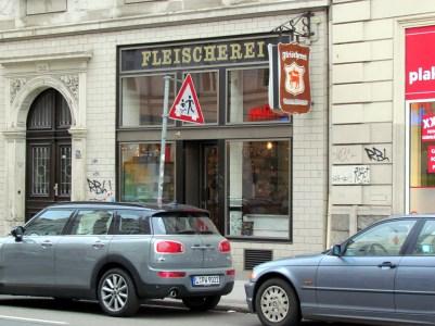 Café Fleischerei in der Jahnallee
