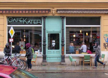 Cafè Kater in Plagwitz