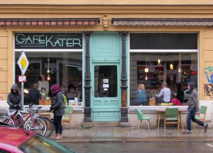 Cafè Kater in Plagwitz