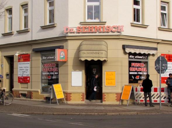 Fleischerei Dr. Sehmisch in der Konradstraße