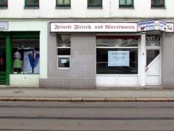 Fleischerei Kresse in Lindenau, März 2016