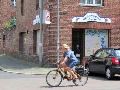 Fleischerei Kresse in der Lößniger Straße, Juni 2016