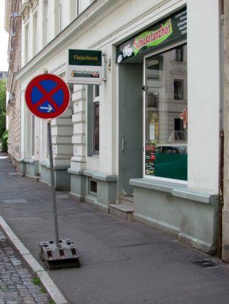 Fleischerei Schicketanz in der Weißenfelser Straße