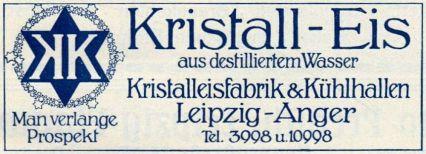 Kristalleisfabrik Anger-Crottendorf 1912