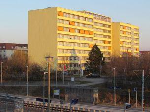 Abendsonne in Grünau (März 2016)