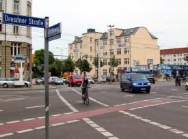 Dresdner Straße / Ecke Gerichtsweg