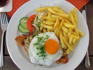 Schnitzel à la Meyer in Baalsdorf