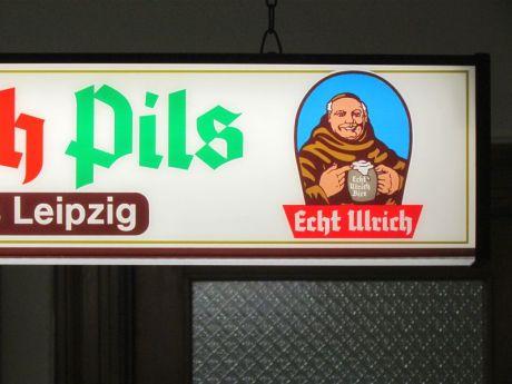 Ulrich-Lichtkasten im Gasthof Baalsdorf