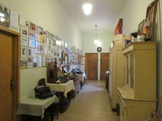 Museumsflur im Gasthof Baalsdorf