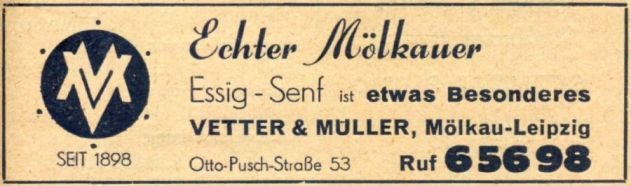 Anzeige von 1955