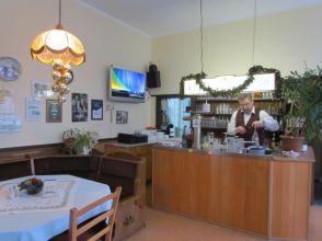 Im Bahnhofsrestaurant Liebertwolkwitz (Dez. 2016)