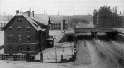 Bahnhof Stötteritz 1910