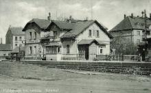 Bahnhof Holzhausen (Postkarte 1966 gelaufen)