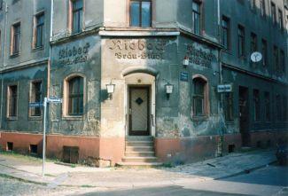 Riebeck-Bräu-Stübl in der Markranstädter / Ecke Klingenstraße