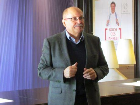 Günther Rothe im Hotel Westin