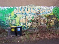 Graffiti an der Georg-Schwarz-Straße