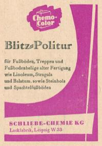 Blitz-Politur aus dem Leipziger Westen