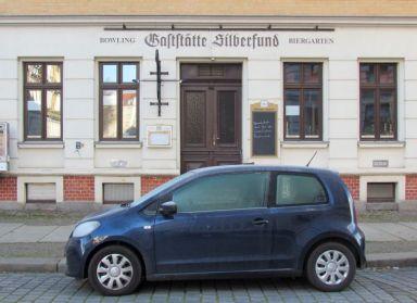 Silberfund in der Theodor-Neubauer-Straße