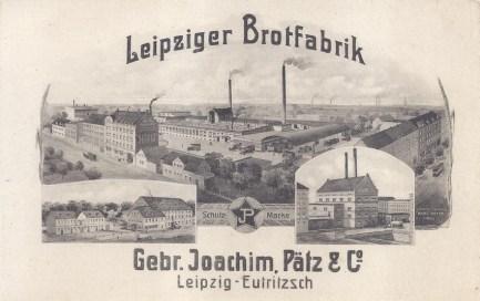 Leipziger Brotfabrik Gebr. Joachim, Pätz & Co.