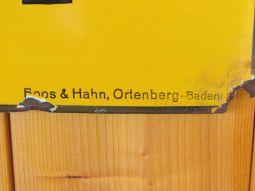 Stern-Brot-Emailleschild, gesehen in Mölkau