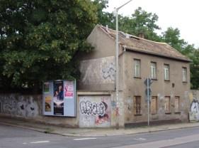 Herbartstraße (links), Ecke Zweinaundorfer Straße