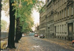 Franckestraße, Blick zur Herbartstraße
