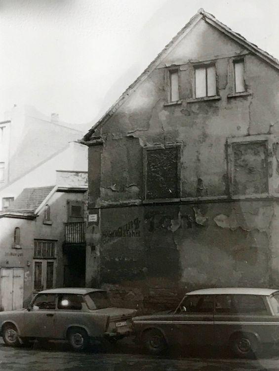 Gebäude Rödel- / Ecke Probsteistraße (abgerissen)