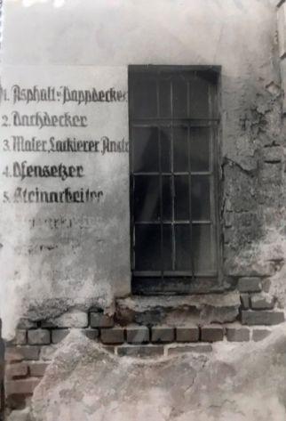 Münzgasse 24 Ende der 1980er (Foto: Norbert Lotz)