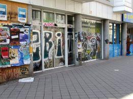 Untergrund-Aldi in der Merseburger Straße 2017