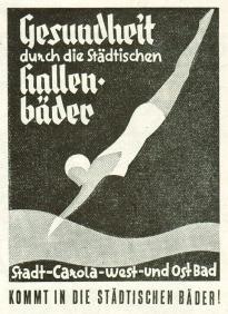 Werbung von 1936