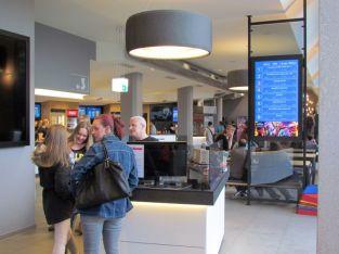 Im Cineplex in Grünau