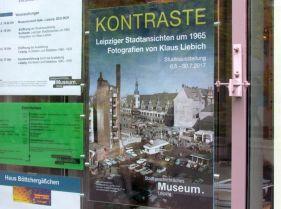 Plakat der Klaus-Liebich-Ausstellung