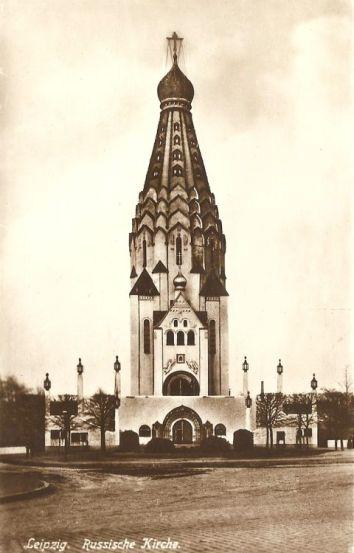 Russische Kirche 1929