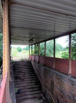 Alter Bahnsteig in Lützschena