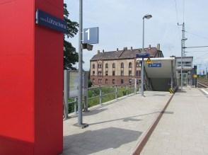 Bahnhof bzw. Haltepunkt Lützschena