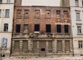 Prager Straße 1992, ggü. der Brauerei Thonberg (Foto: Norbert Lotz)