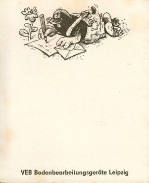 BBG-Briefbogen aus den 1980ern (Archiv: Holger Schmelzer)