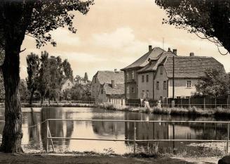 Leipzig-Knauthain: Am Teich, 1960er Jahre