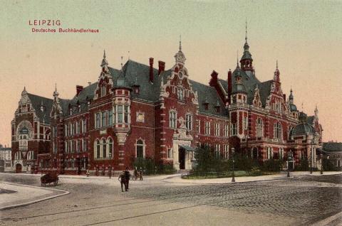 Buchhändlerhaus, Verlag Dr. Trenkler und Co., 1903