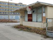 Pförtnerhäuschen in der Frommannstraße