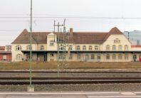 Abfertigungsgebäude am ehem. Eilgutschuppen der preußischen Eisenbahn