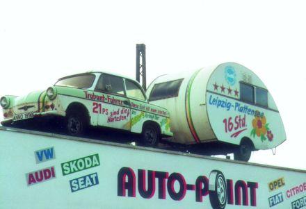 In den 1990ern war das Bistro ein Auto-Point