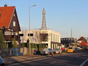 Unser Facebook-Bild vom Eiffelturm in der Hupfeldstraße