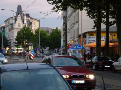 Bild 4a: Karl-Liebknecht- / Einmündung Kochstraße