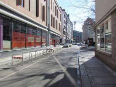 Ziemlich ruhig: Burgstraße