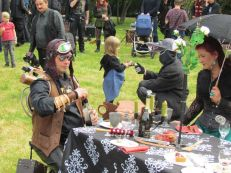 Steampunk-Picknick 2018